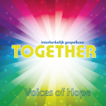 gospelkoor Together (voorkant cd)